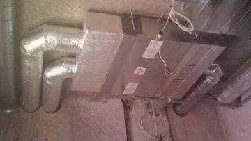 Монтаж вентиляции и кондиционирования